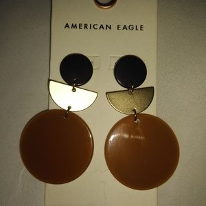American Eagle artist earrings